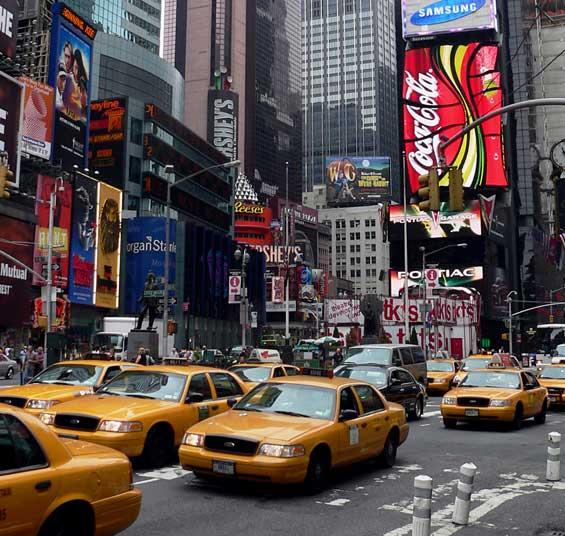 Brilliant Simplicity Times Square: Center Stage Film Locations