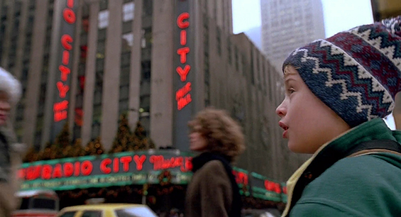 Home Alone 2 Film Locations -On the set of New York.com