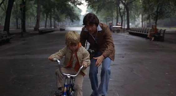 Image result for kramer v kramer riding a bike