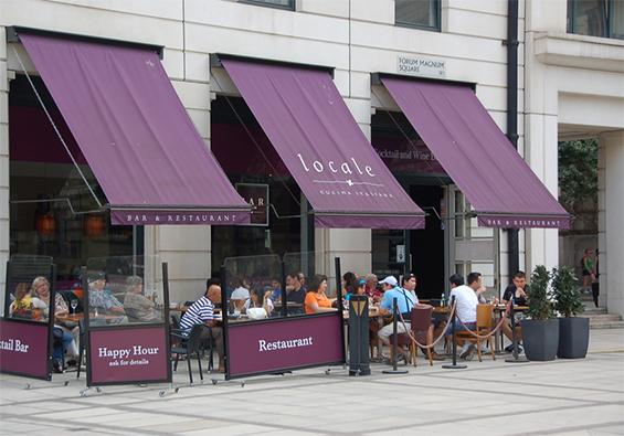 Locale Restaurant Belvedere Road
